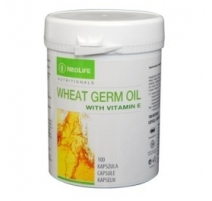 Wheat Germ Oil with vitamin E, maisto papildas